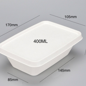 Bagasse Takeout Box(Pack of 500 sets)