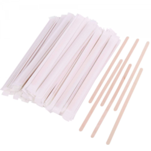 Wood Coffee Stirrers(Paper wrapped) Set of 2k pieces