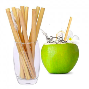 Bamboo Straws (Pack of 100 pcs)