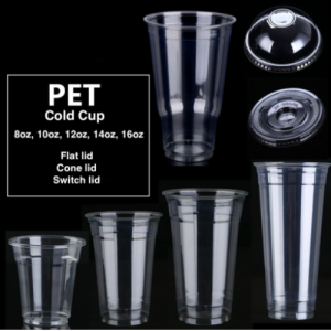 ECO Friendly PET Cold Cups(Pack of 1k)