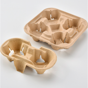 Pulp Fiber Drink Carrier Tray (Pack of 300)