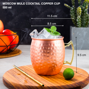 Moscow Mule Copper Mugs Set Of 5