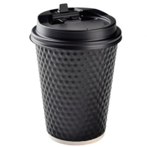 Golf-Surface Insulated Corrugated Hot Paper Cup(Pack of 500pcs)