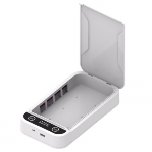 Enhance Guest Stay Experience – Portable Phone Sterilizer (White)