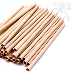 NATURAL PLANT BAMBOO FIBER STRAW PLASTIC-FREE DISPOSABLE (Pack of 5K pcs)