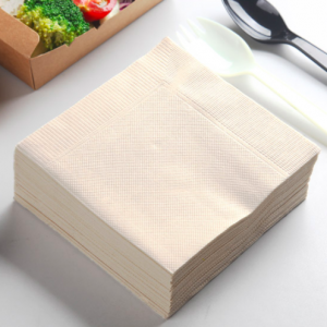 Recycled Kraft Paper Napkins, Compostable Unbleached Eco Lunch Napkins (1,000 sheets)