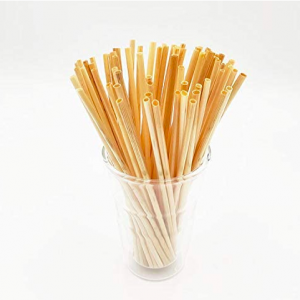Wheat Straw Drinking Straws Sustainable & Biodegradable (Box of 10K)