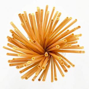 Wheat Straw Drinking Straws Sustainable & Biodegradable (Box of 10K)