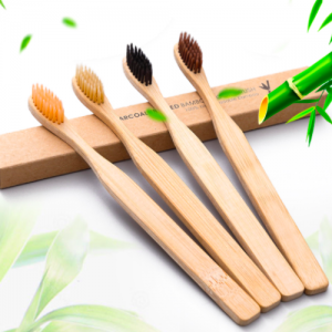 Natural Biodegradable Bamboo Toothbrushes (1K pcs)