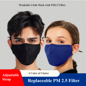 Washable Mask with Filter