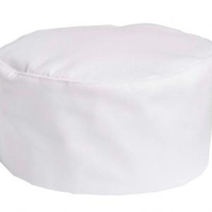 Cotton Chef Hat Cap Adjustable – White Cotton Top (10 pcs)