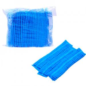 Non-Woven Mob Caps Breathable Anti Dust Hair Net Cap (1000 pcs)
