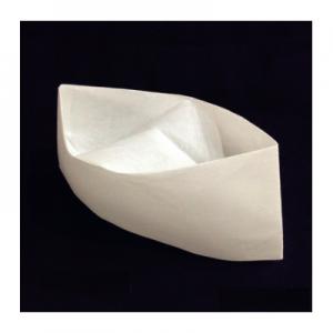 Disposable Non Woven Low Chef Hat 30CM White (100 pcs)