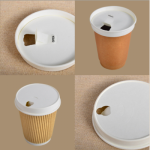 Paper Lid for Coffee Cup (Pack of 1,000 pcs)