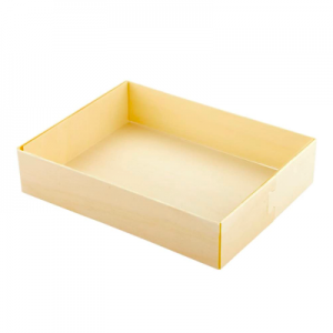 Wood Salad Box with cover (pack of 200 sets)